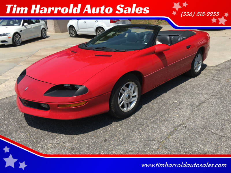 1996 Chevrolet Camaro for sale at Tim Harrold Auto Sales in Wilkesboro NC
