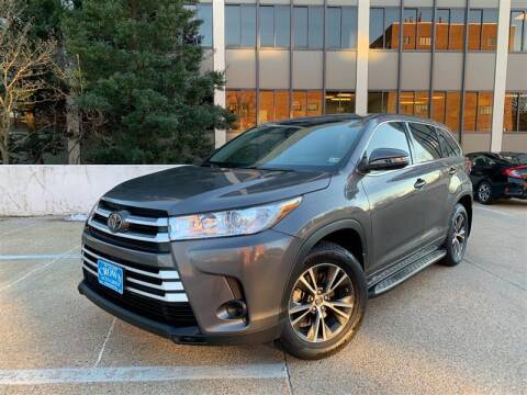 2017 Toyota Highlander for sale at Crown Auto Group in Falls Church VA