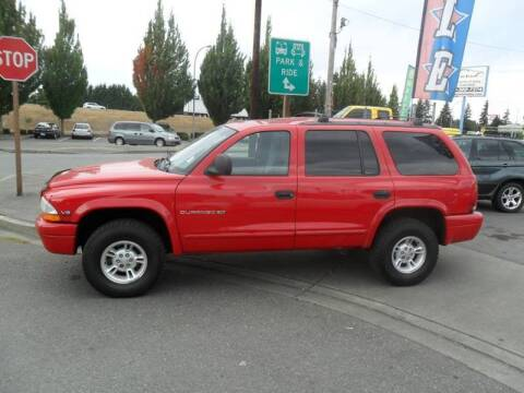 1998 Dodge Durango for sale at Car Link Auto Sales LLC in Marysville WA