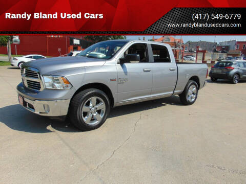 2019 RAM Ram Pickup 1500 Classic for sale at Randy Bland Used Cars in Nevada MO