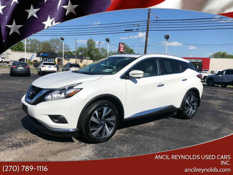 2017 Nissan Murano for sale at Ancil Reynolds Used Cars Inc. in Campbellsville KY