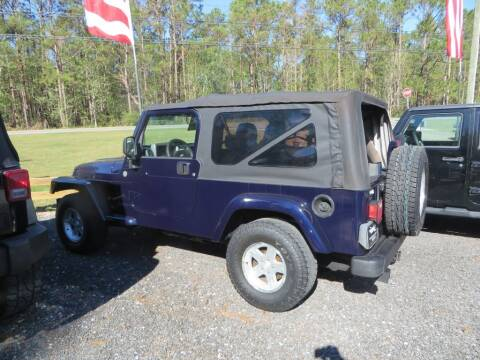 2006 Jeep Wrangler for sale at Ward's Motorsports in Pensacola FL