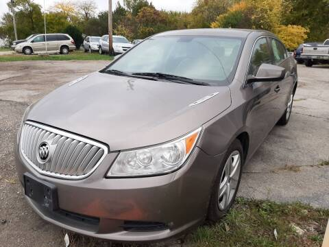 2011 Buick LaCrosse for sale at John - Glenn Auto Sales INC in Plain City OH