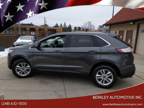 2017 Ford Edge for sale at Berkley Automotive Inc. in Berkley MI