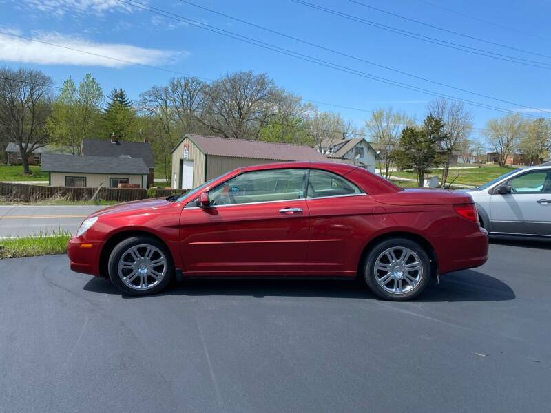 2008 Chrysler Sebring for sale at MJ'S Sales in Foristell MO