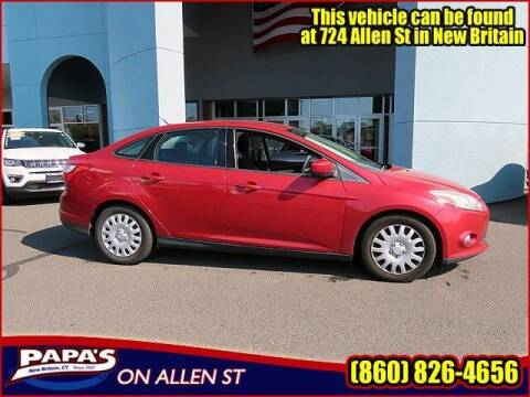 2012 Ford Focus for sale at Papas Chrysler Dodge Jeep Ram in New Britain CT