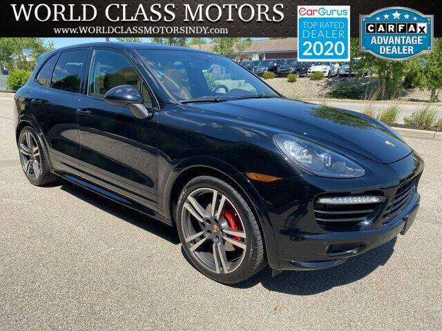 2014 Porsche Cayenne for sale at World Class Motors LLC in Noblesville IN
