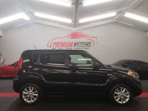 2013 Kia Soul for sale at Premium Motors in Villa Park IL