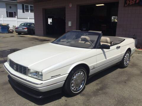 1993 Cadillac Allante for sale at Pat's Auto Sales, Inc. in West Springfield MA