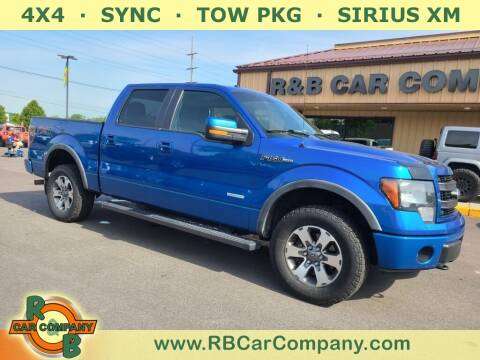 2014 Ford F-150 for sale at R & B Car Company in South Bend IN