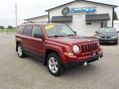2014 Jeep Patriot for sale at Country Auto in Huntsville OH
