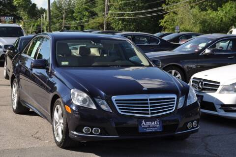 2011 Mercedes-Benz E-Class for sale at Amati Auto Group in Hooksett NH