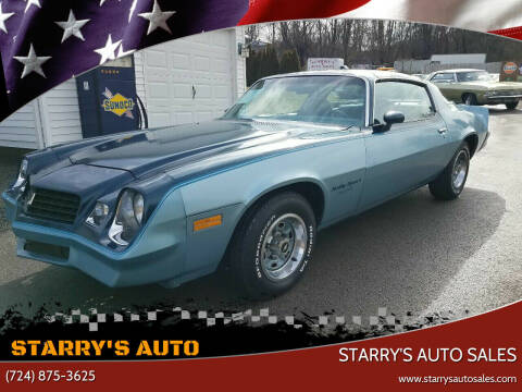 1979 Chevrolet Camaro for sale at STARRY'S AUTO SALES in New Alexandria PA
