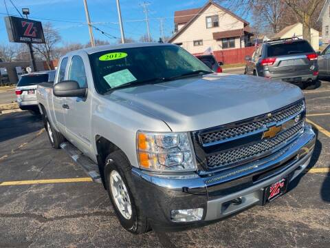 2012 Chevrolet Silverado 1500 for sale at Zs Auto Sales in Kenosha WI