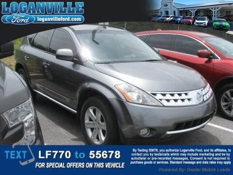 2007 Nissan Murano for sale at Loganville Quick Lane and Tire Center in Loganville GA