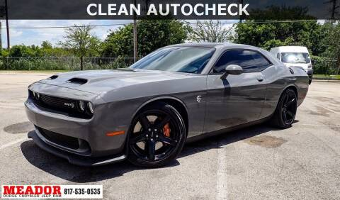 2019 Dodge Challenger for sale at Meador Dodge Chrysler Jeep RAM in Fort Worth TX