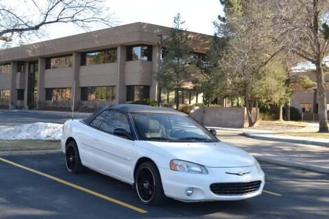 2002 Chrysler Sebring for sale at QUEST MOTORS in Englewood CO