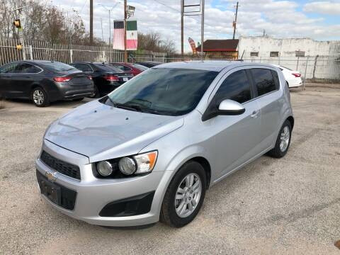 2015 Chevrolet Sonic for sale at Saipan Auto Sales in Houston TX