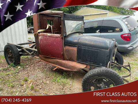 1929 Ford Model A for sale at First Class Autos in Maiden NC