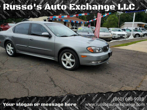 2004 Infiniti I35 for sale at Russo's Auto Exchange LLC in Enfield CT