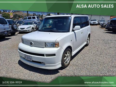 2005 Scion xB for sale at ALSA Auto Sales in El Cajon CA