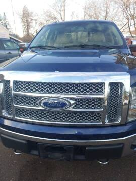 2010 Ford F-150 for sale at WB Auto Sales LLC in Barnum MN