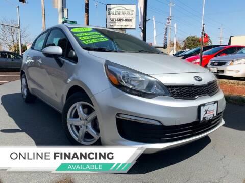 2017 Kia Rio for sale at Salem Auto Market in Salem OR