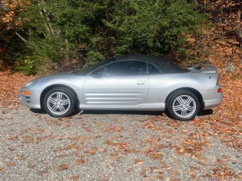 2003 Mitsubishi Eclipse Spyder for sale at Top Notch Auto & Truck Sales in Gilmanton NH