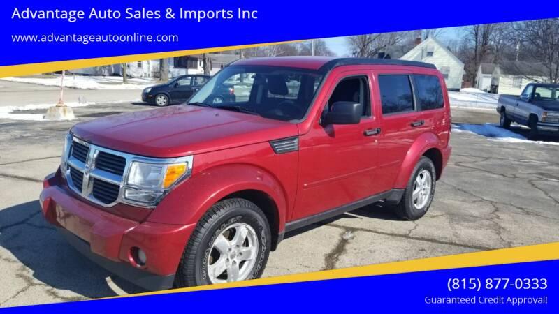 2008 Dodge Nitro for sale at Advantage Auto Sales & Imports Inc in Loves Park IL
