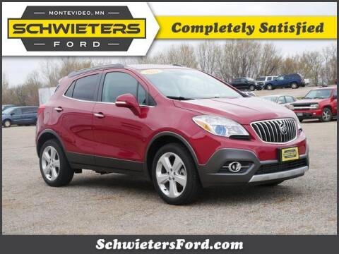 2016 Buick Encore for sale at Schwieters Ford of Montevideo in Montevideo MN