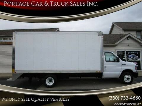 2018 Ford E-Series Chassis for sale at Portage Car & Truck Sales Inc. in Akron OH