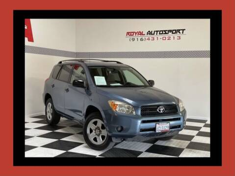 2008 Toyota RAV4 for sale at Royal AutoSport in Sacramento CA