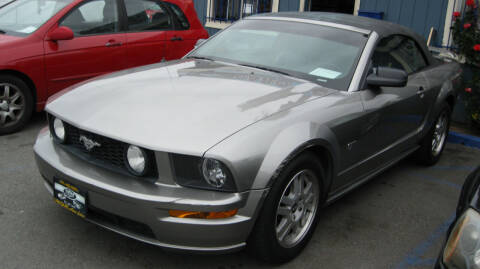 2008 Ford Mustang for sale at CABO MOTORS in Chula Vista CA