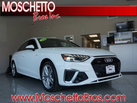 2020 Audi A4 for sale at Moschetto Bros. Inc in Methuen MA