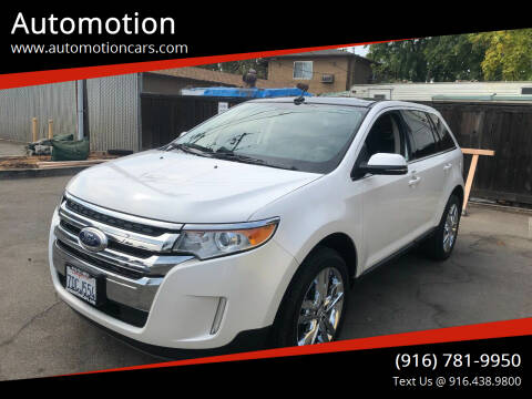 2013 Ford Edge for sale at Automotion in Roseville CA