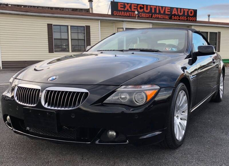 2005 BMW 6 Series for sale at Executive Auto in Winchester VA