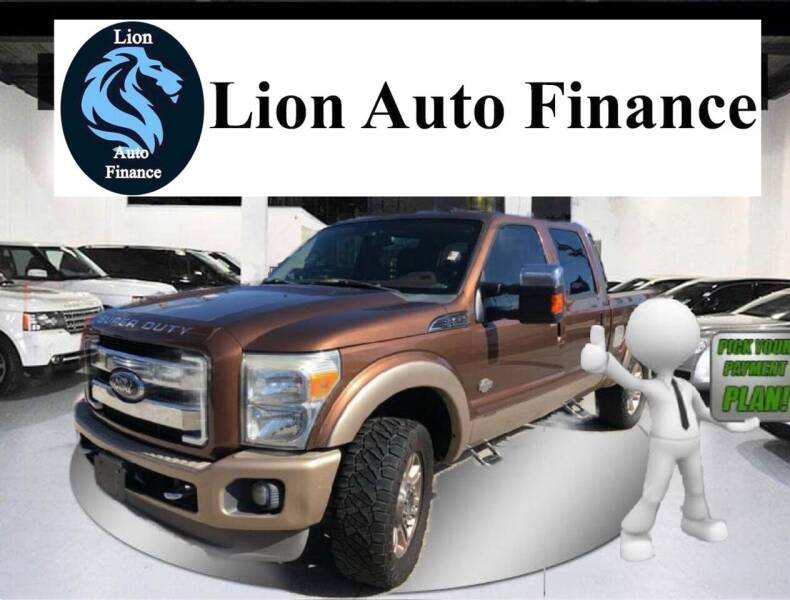 2011 Ford F-250 Super Duty for sale at Lion Auto Finance in Houston TX
