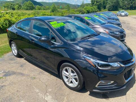 2017 Chevrolet Cruze for sale at Hillside Motors in Campbell NY