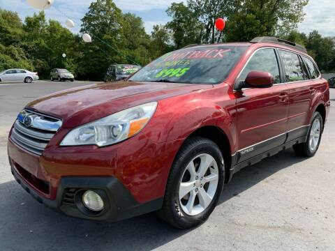 2013 Subaru Outback for sale at FREDDY'S BIG LOT in Delaware OH