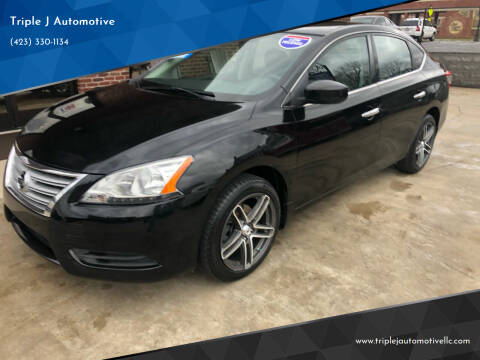 2014 Nissan Sentra for sale at Triple J Automotive in Erwin TN