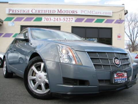 2008 Cadillac CTS for sale at Prestige Certified Motors in Falls Church VA