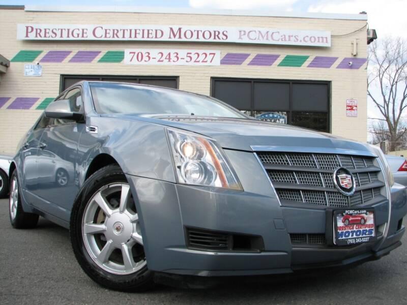 2008 Cadillac CTS for sale at Prestige Certified Motors in Falls Church VA