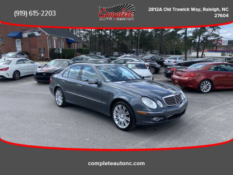 2008 Mercedes-Benz E-Class for sale at Complete Auto Center , Inc in Raleigh NC