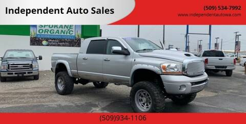 2006 Dodge Ram Pickup 3500 for sale at Independent Auto Sales #2 in Spokane WA