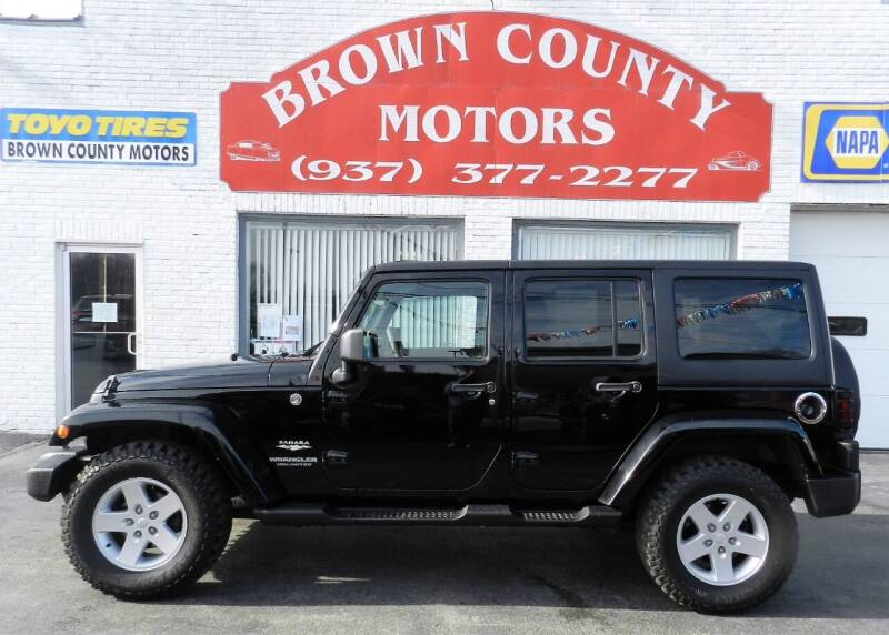 2008 Jeep Wrangler Unlimited for sale at Brown County Motors in Russellville OH