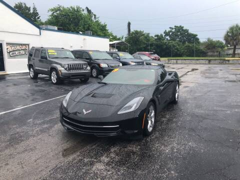 2019 Chevrolet Corvette for sale at Sunray Auto Sales Inc. in Holiday FL