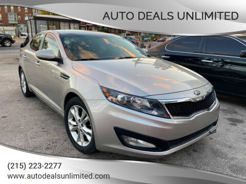 2013 Kia Optima for sale at AUTO DEALS UNLIMITED in Philadelphia PA
