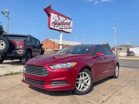 2015 Ford Fusion for sale at Southwest Car Sales in Oklahoma City OK
