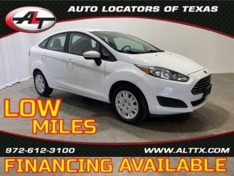 2015 Ford Fiesta for sale at AUTO LOCATORS OF TEXAS in Plano TX