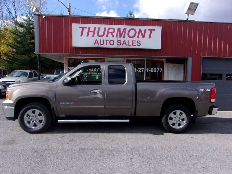 2013 GMC Sierra 1500 for sale at THURMONT AUTO SALES in Thurmont MD